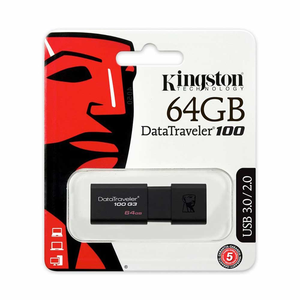 Kingston 64 gb datatraveler 100 g3 usb 3.0 dt100g3-gb