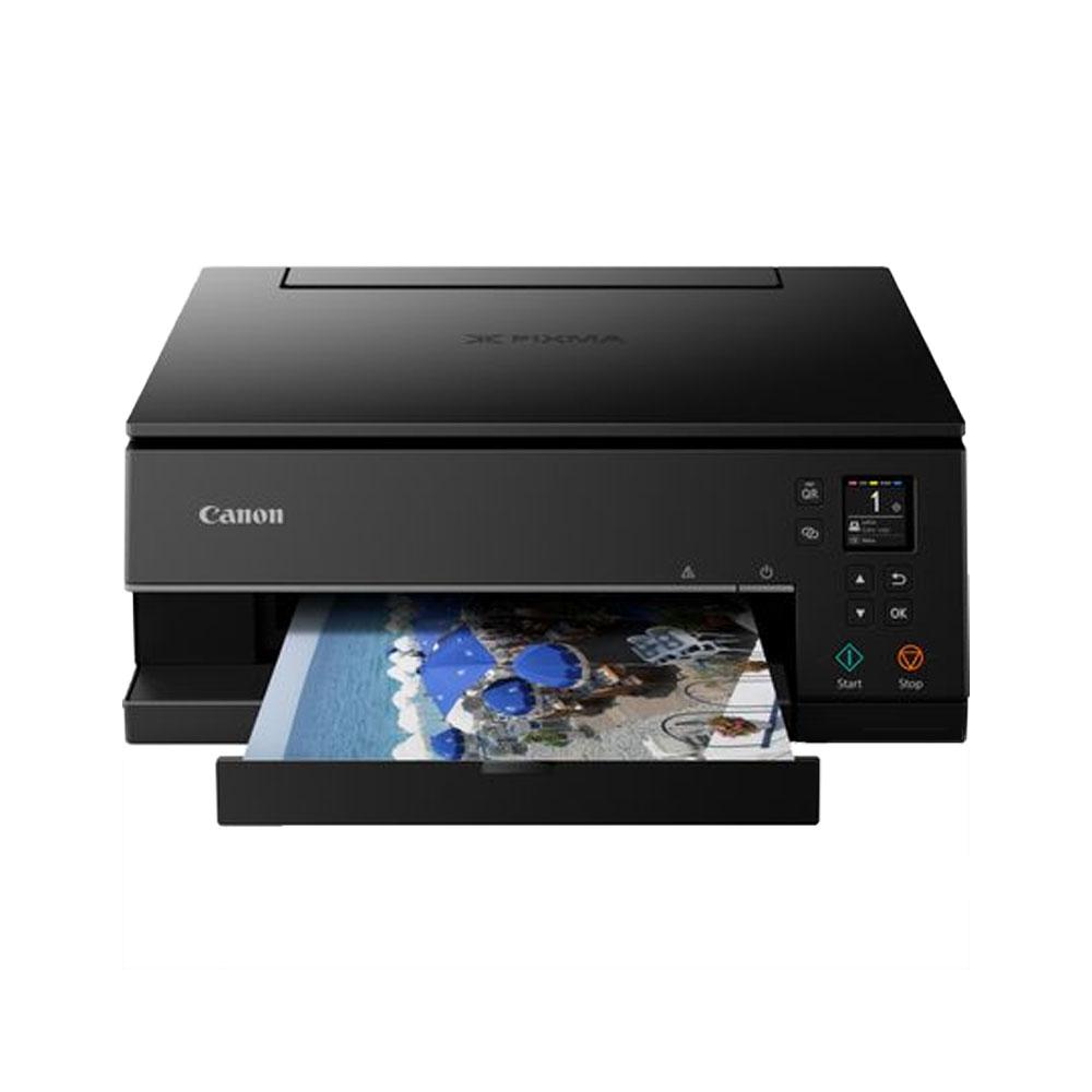 Stampante inkjet a colori Canon NTS6350 Wi-Fi LAN fotocopiatrice fax foto 4