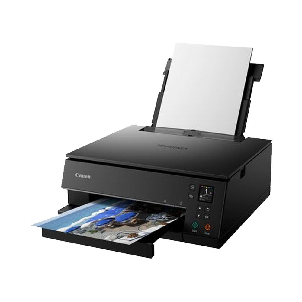 Stampante inkjet a colori Canon NTS6350 Wi-Fi LAN fotocopiatrice fax foto 5