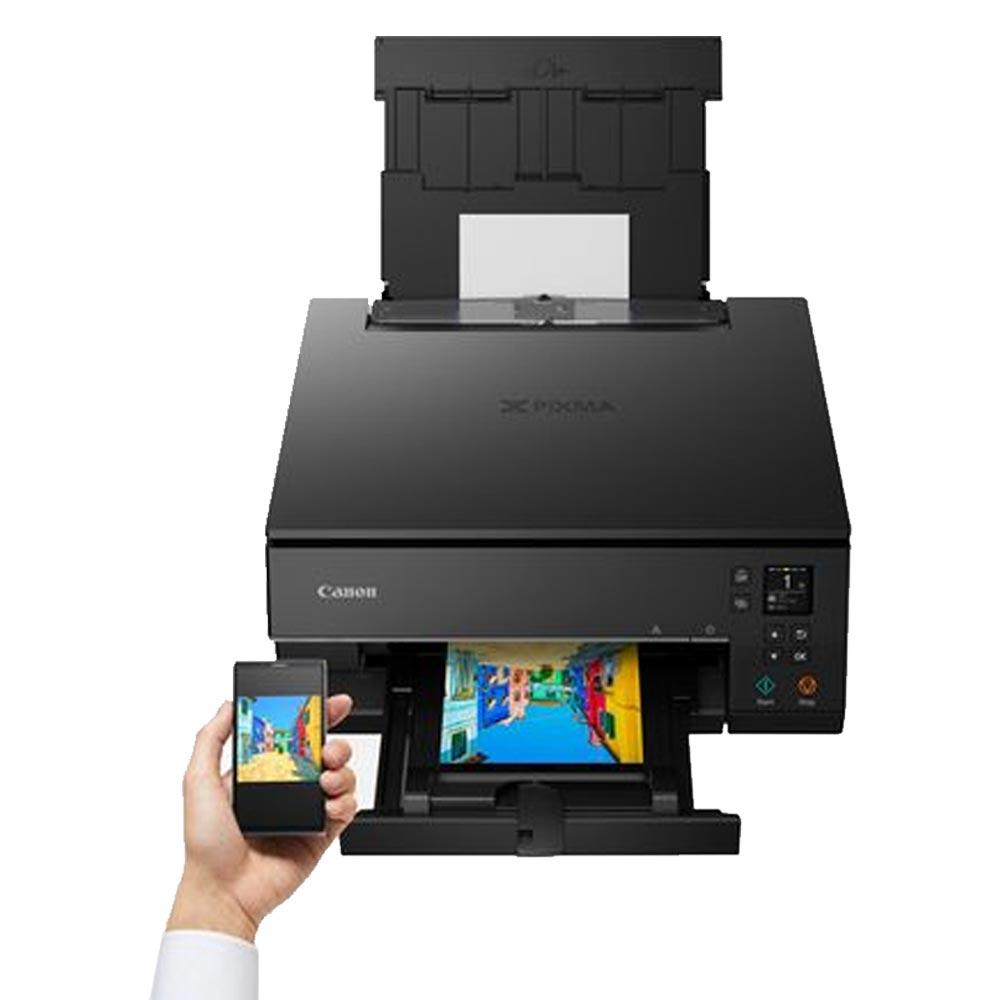 Stampante inkjet a colori Canon NTS6350 Wi-Fi LAN fotocopiatrice fax foto 6