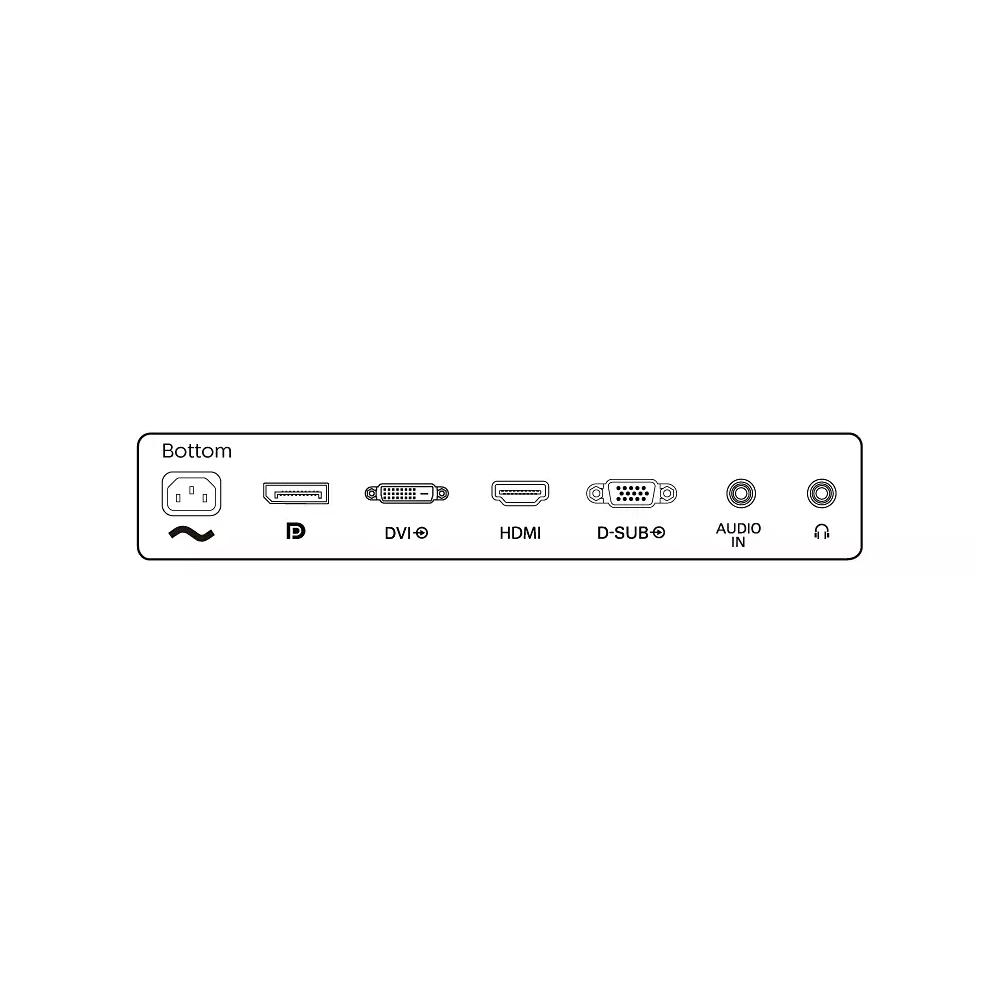Monitor Philips 242S1AE 23,8 pollici FullHD VGA HDMI DisplayPort 4ms con speaker foto 6