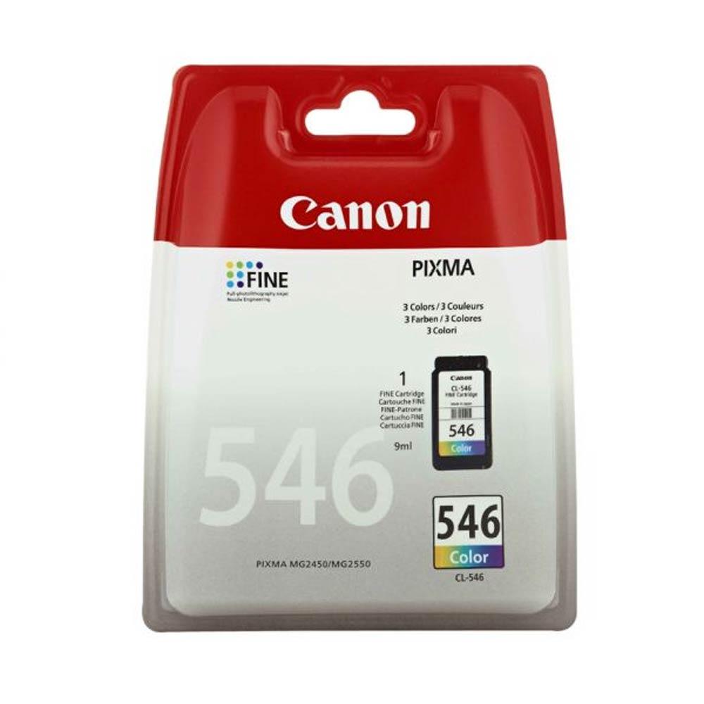 Cartuccia originale Canon CL-546 colore tricomia alte prestazioni di stampa foto 2