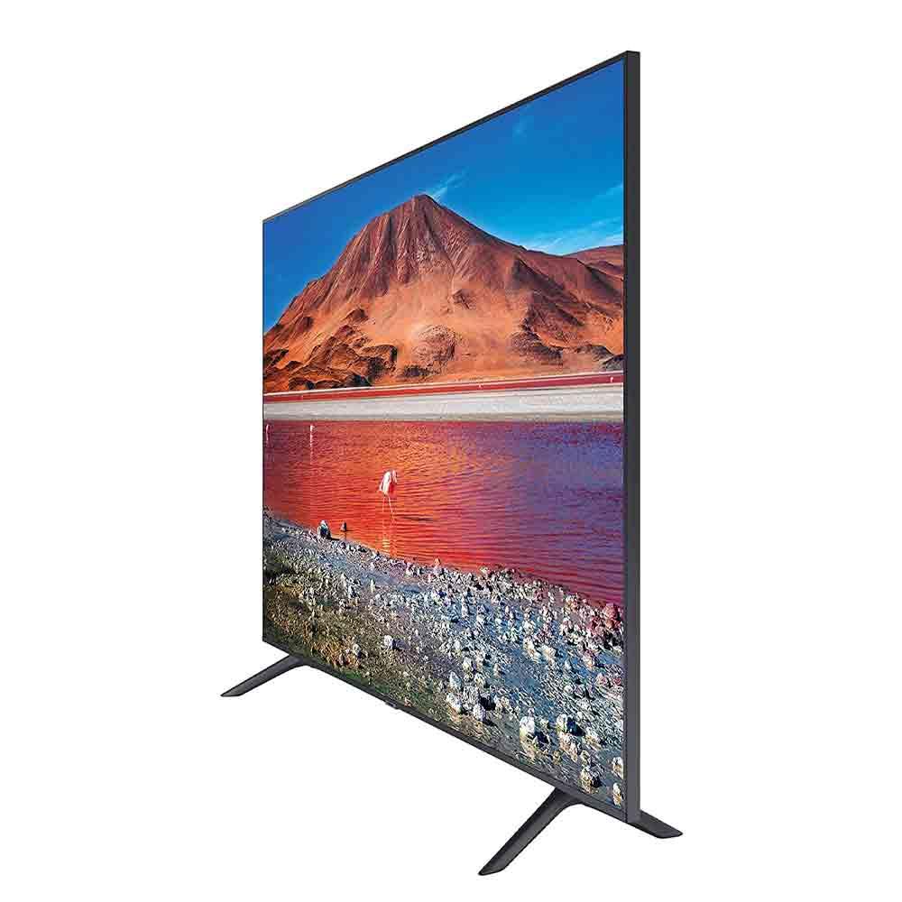 Smart TV Samsung Crystal UHD 4K 55 pollici TizenOS DVB-T2 Wi-Fi Lan foto 3