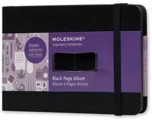 Moleskine album fotograficotascabile pagine nere